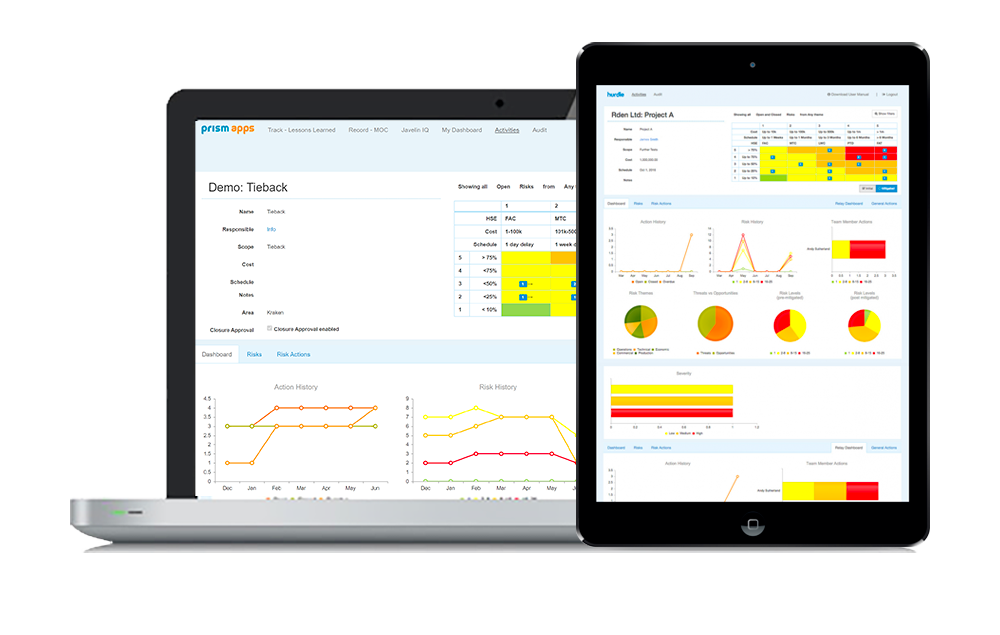 Prism System is a Risk Management and Project Management Software Solution
